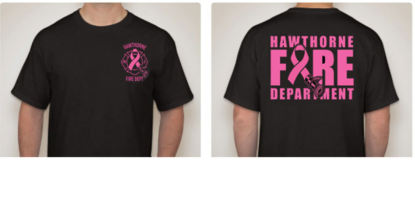 HFD Breast Cancer Awareness T-Shirt