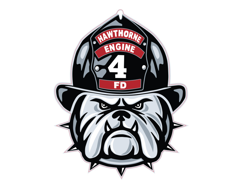 HFD Company 4 Sticker