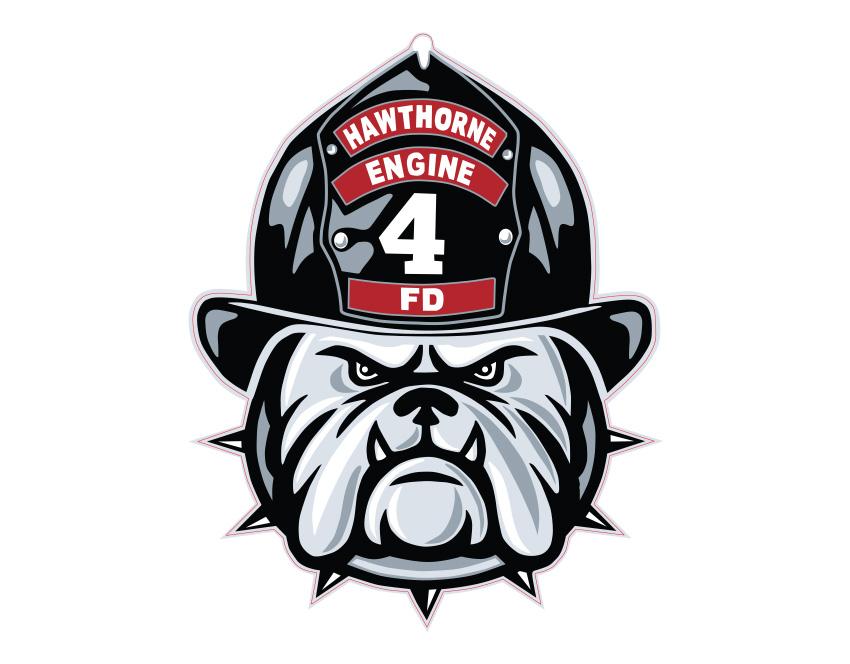 HFD Company 4 Sticker