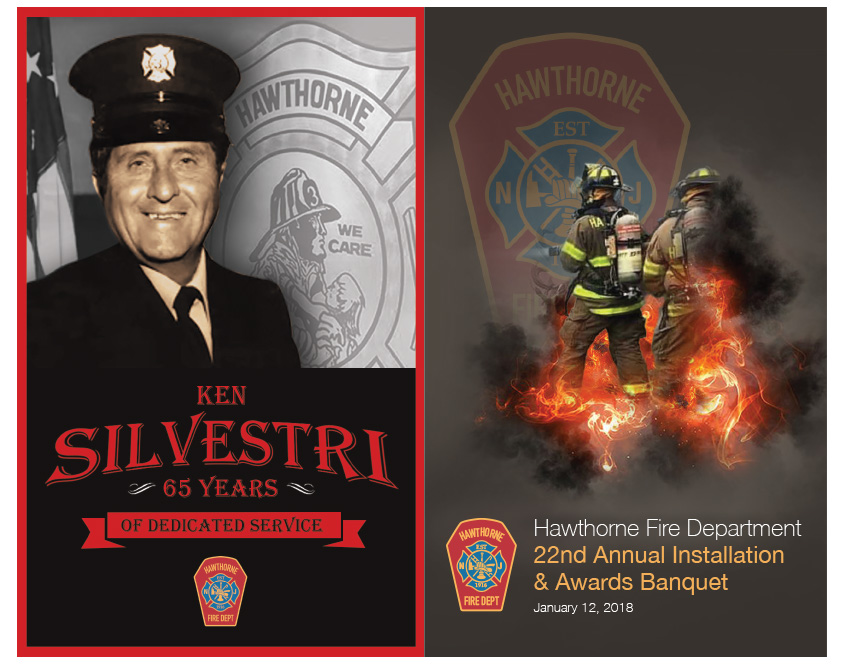 2018 HFD Annual Installation & Awards Banquet Brochure (Cover & Back)